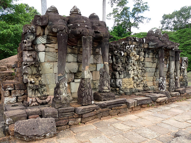 Angkor Thom- Terrace of the Elephants