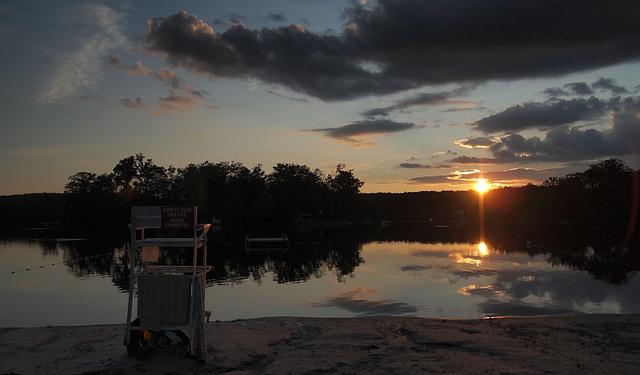 Highland Lakes Sunset