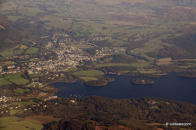 Aerial - Lake District - Keswick