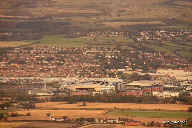 Aerial - The Reebok Stadium