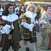 A gauche Colbert, à droite, Mme de Sévigné amie de Fouquet