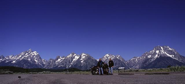 Approaching Grand Teton