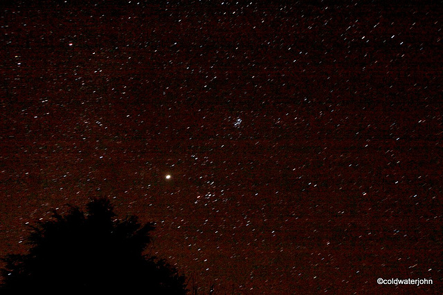 Aldebaran and Pleiades