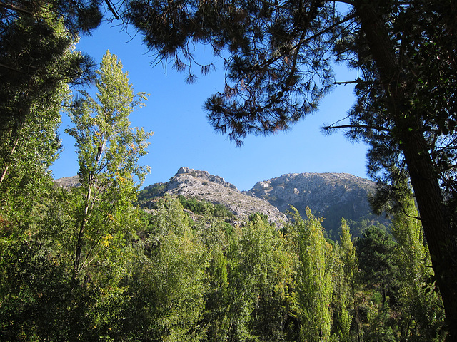 The Alcazar Nature Reserve in the Sierra Tejeda