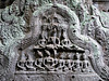 Ta Prohm- Stone Carving of Dancing Girls