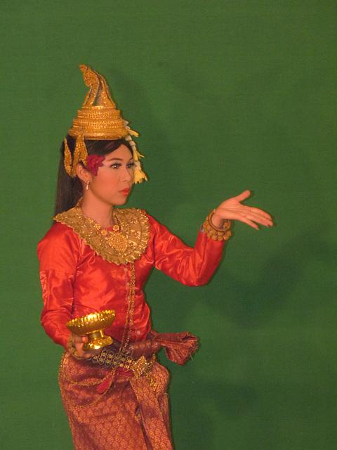 Traditional Khmer Dancer #1