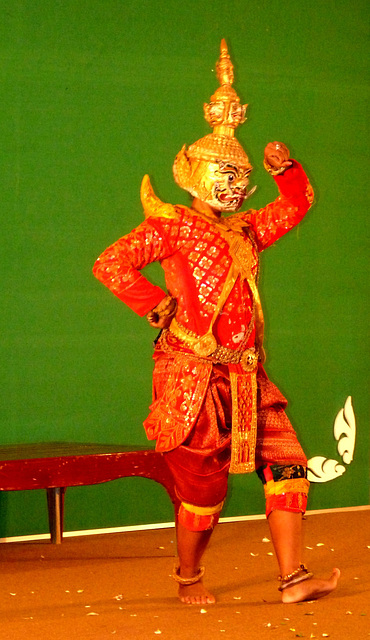Traditional Khmer Dancer #2