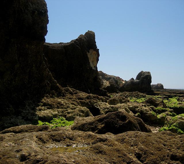 Algarve, Praia Galé, rock' stronghold