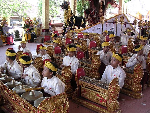 Ubud, Bali Gamelan - Musik