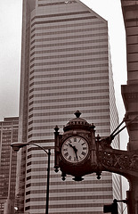 Old clocks show the same new time......