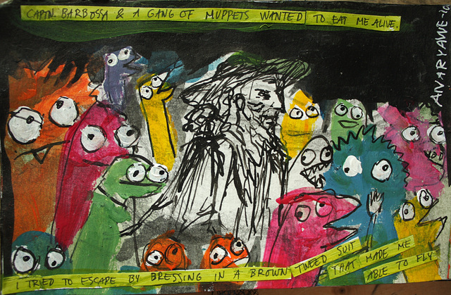 Dream with muppets