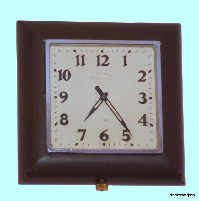 Art Deco Clock 1920s