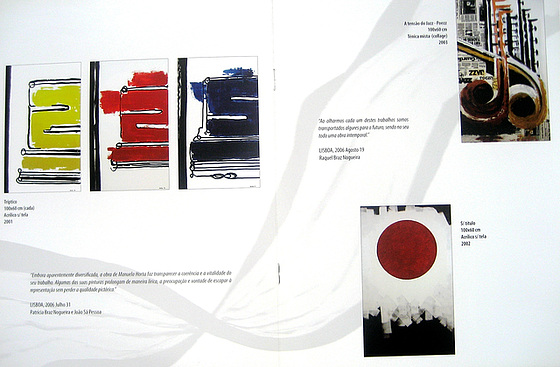 """Escape's Point"", Painting Exhibition by Manuela Horta, catalogue (3)"