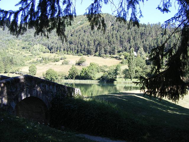 le lac à belcaire