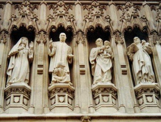 Martyrs du XXème siècle, Westminster Abbey