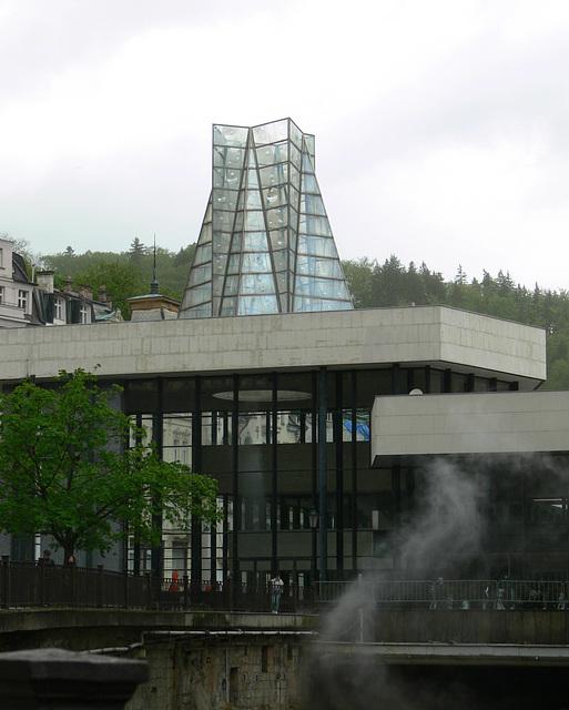 Karlsbad/CZ - Sprudelkolonnade