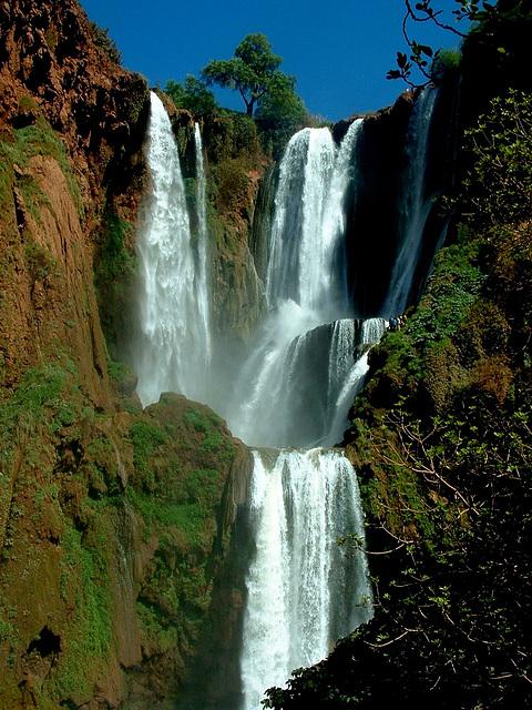 Les Cascades d'Ouzoud, Maroc