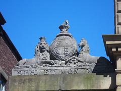 Près du palais de justice de Newcastle