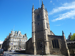 Newcastle : église Saint-Jean le baptiste