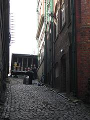 Dans les rues de Newcastle...