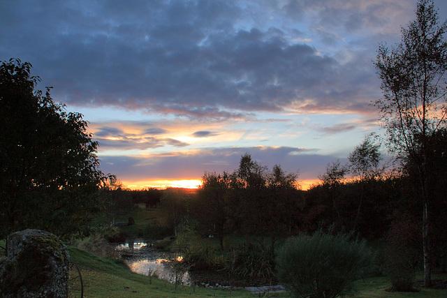 Autumn Evening Skies