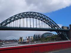 Newcastle : Tyne bridge.