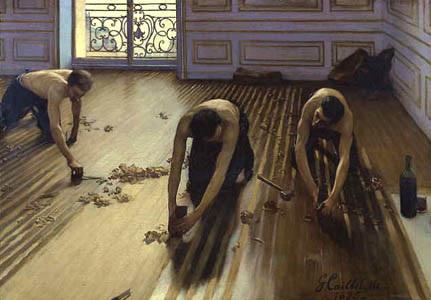 Les Raboteurs de parquet, œuvre de Gustave Caillebotte