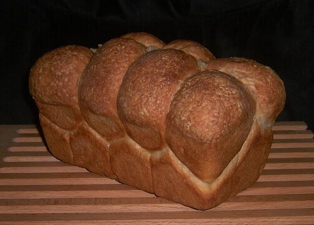 Brioche Nanterre / Nanterre Brioche loaf