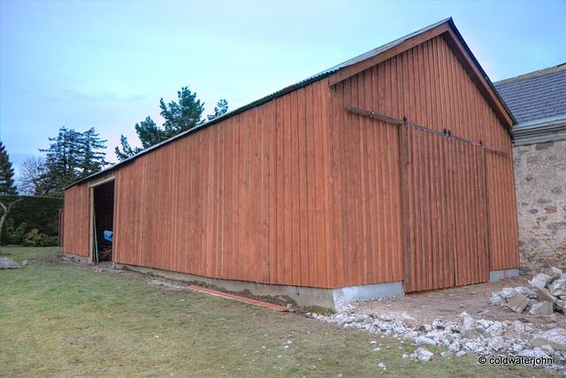 Barn Renovation - Progress today!