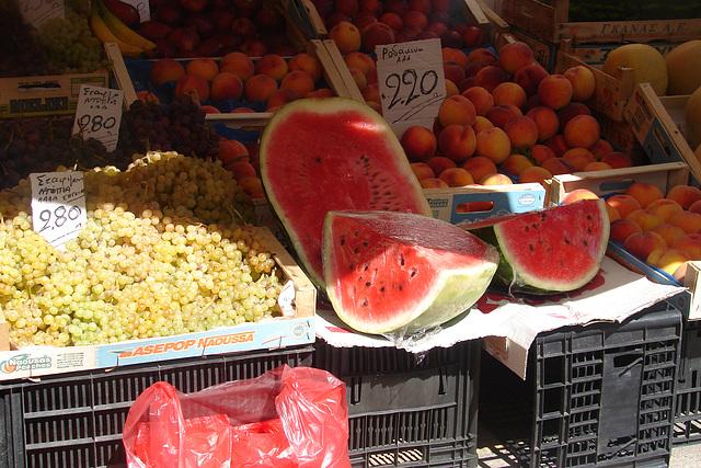 Crète boutique de fruits et légumes