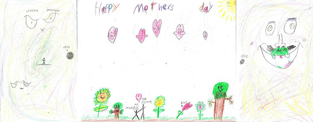 Happy Mother's Day Card By MueedFront