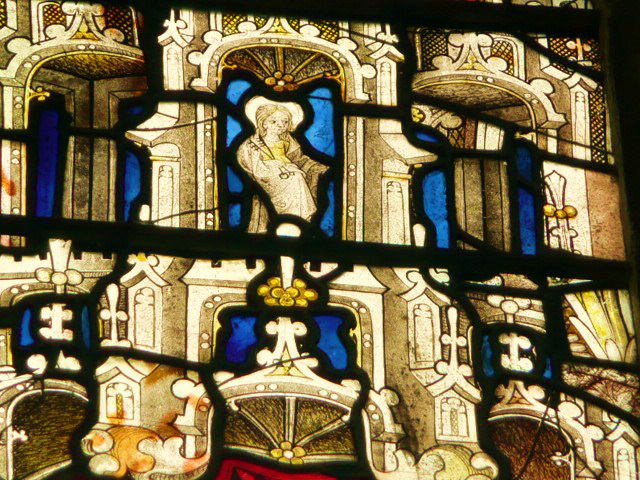 wilby,  st.sitha in  c15 glass