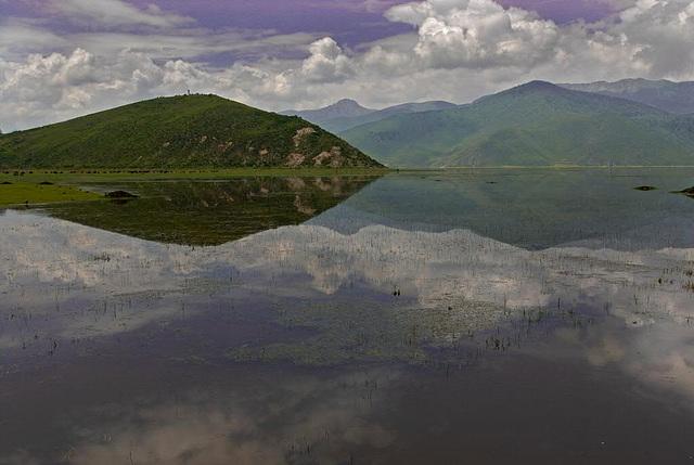 Bitahai Lake near Zhongdian