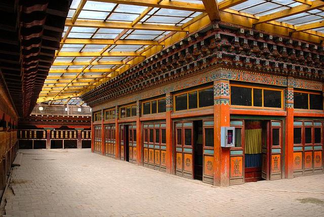 Inside the Songzanlin Monastery