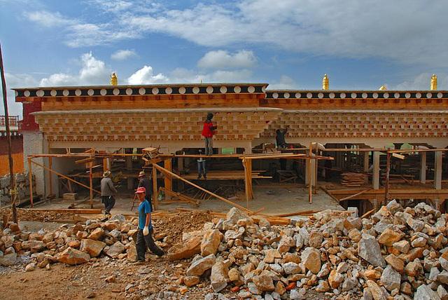 Songzanlin Monastery new constactions
