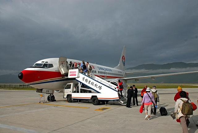Leaving Zhongdian the Shangri-La in Yunnan