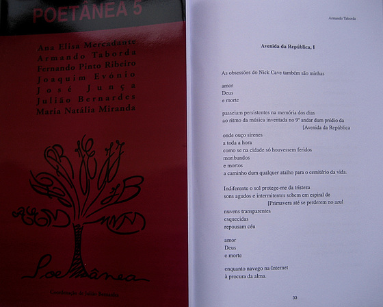POETÂNEA 5, Edition by the Authors, 2006 September