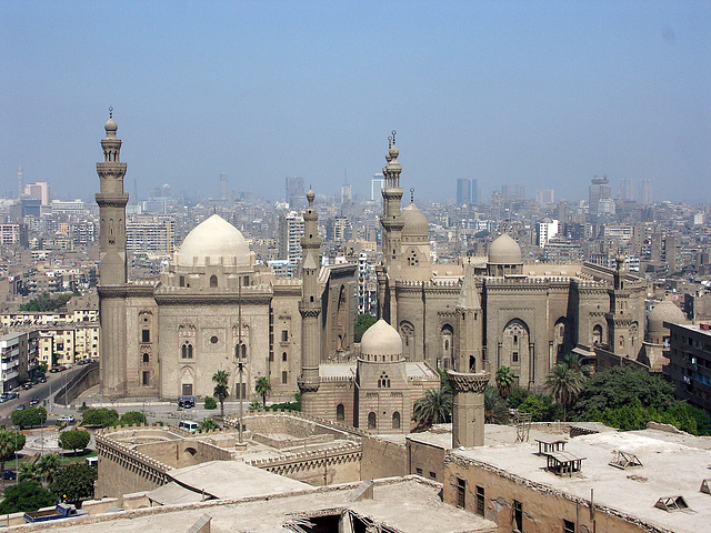 Sultan Hassan Mosque + Al Rifa'i Mosque