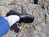 3546  visites ça se fête !!!!!Prendre son pied à Quiberon petit talon 3 cm lol  j'ai perdu près de 100 visites en chemin Mdr