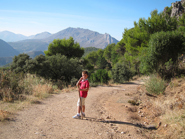 Peter in the Alcazar Nature Reserve in the Sierra