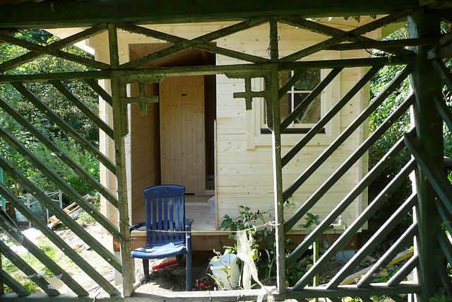 Gatenhaus mit Sauna