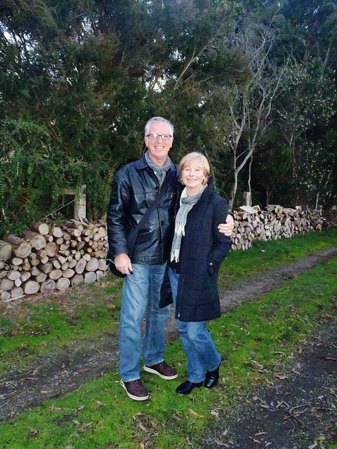 Terry & Liz visit