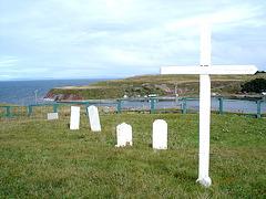Cimetière Maritime / Coastal cemetery -  Terre-Neuve / Newfoundland - CANADA /  18 septembre 2005.