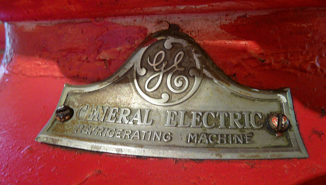 General Electric Refrigerating Machine (1482)