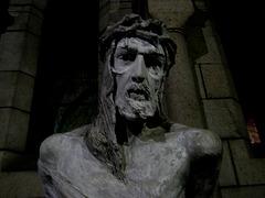Paris, Basilique du Sacré-Coeur, crypte, Jesus Christ (sculpture) (1)