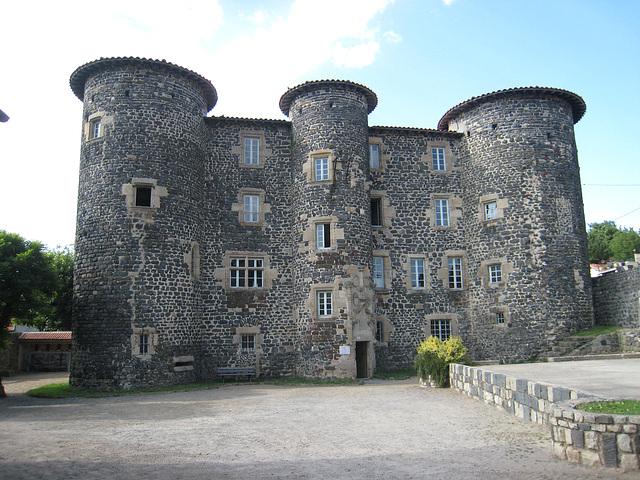 Le Monastier sur Gazeille - Le château