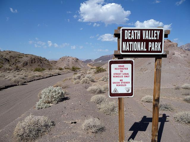 Death Valley National Park boundary (1560)