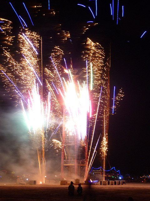 Fireworks at The Man (1206)