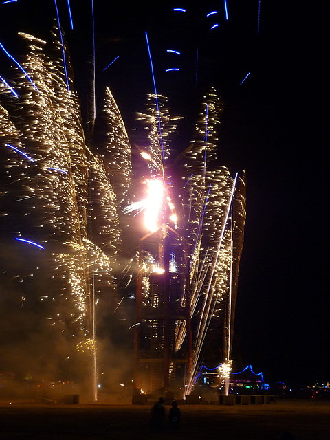 Fireworks at The Man (1207)
