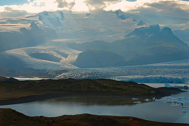 Jökulsárlón lake
